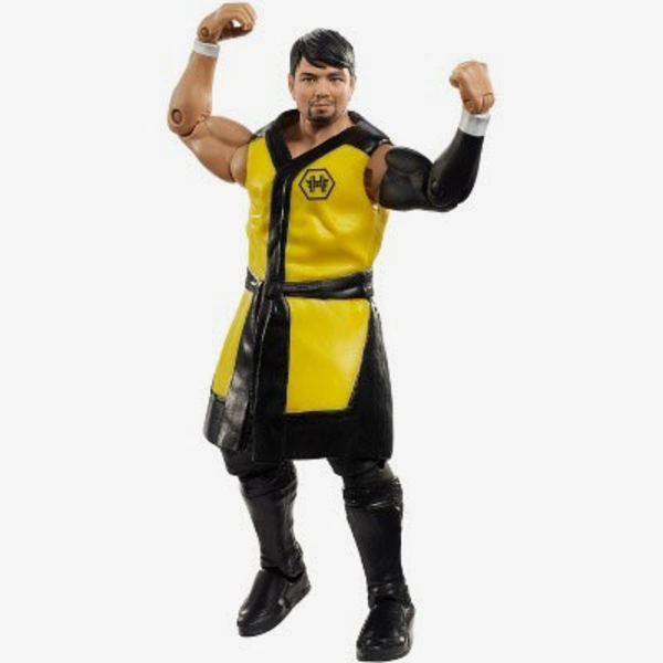 Mattel Wwe Figures On Display At Wrestlemania