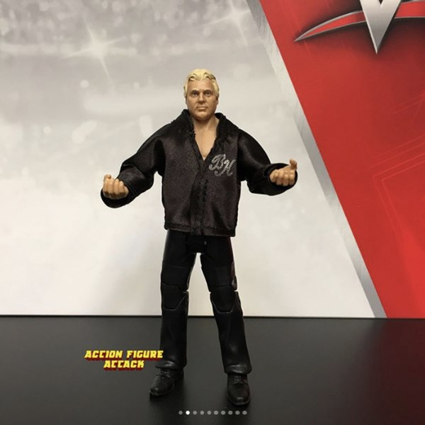WWE Mattel Bobby The Brain Heenan Fan Central Exclusive Elite Series Figure