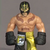 2011 SDCC Exclusive Free WWE Rumblers Rey Mysterio Figure
