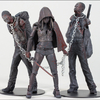 New Walking Dead Bloody B&W Michonne & Pet Zombie 3-Pack Images