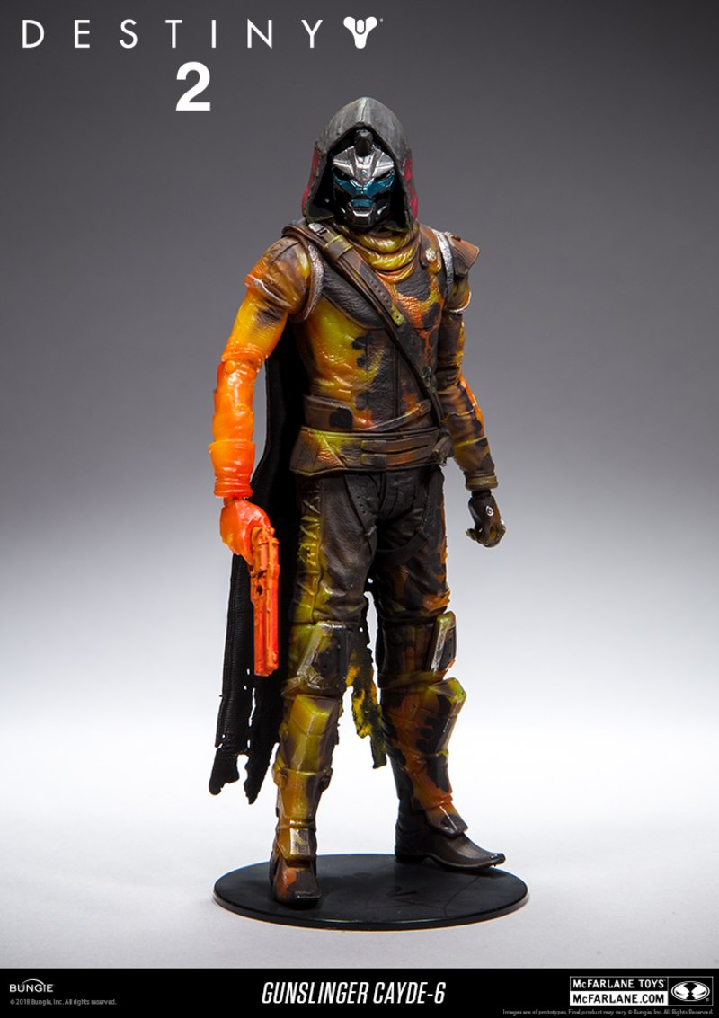 0a56f1751f1 Destiny 2 Target Exclusive Gunslinger Clyde-6 From McFarlane Toys