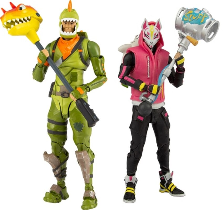 Fortnite 7 Drift And Rex Figures From Mcfarlane Toys