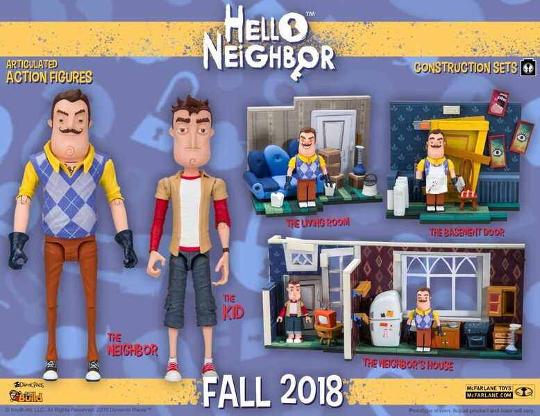 Hello Neighbor Video Game Action Figures Amp Construction