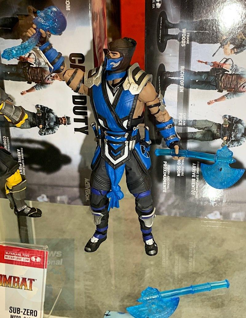 "McFarlane Toys Mortal Kombat Scorpion and Sub-Zero 7/"" Action Figure Order Series"