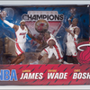 McFarlane Toys Miami Heat's Championship 3-Pack