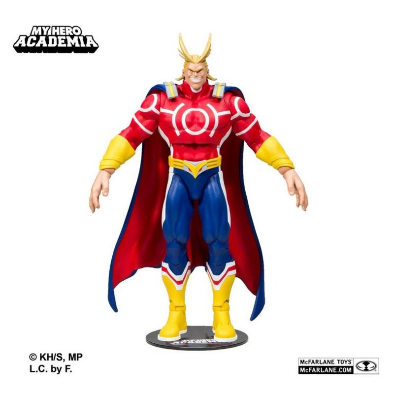 """McFarlane Toys 7/"""" My Hero Academia Wave 1 All Might Action Figure"""