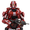 McFarlane Halo 4 Series 3 Walgreens Exclusive Red Spartan Soldier