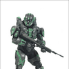 Walgreens Exclusive Halo 4 Spartan C.I.O. Figure