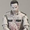 Toys R' Us Bloody Black & White Deputy Rick Grimes From The Walking Dead TV Series 1