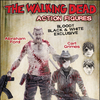Previews Exclusive Walking Dead Comic Carl & Abraham Bloody Black & White Figures