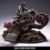 McFarlane Toys Walking Dead Daryl Dixon On Bike Resin Statue Images & Info