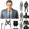 Dark Knight Bruce Wayne and Ra's al Ghul MAFEX Figures From Medicom