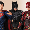 MAFEX Justice League Movie Batman, Flash & Superman Figures Up For Pre-Order