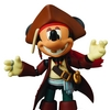 Mickey Mouse Jack Sparrow