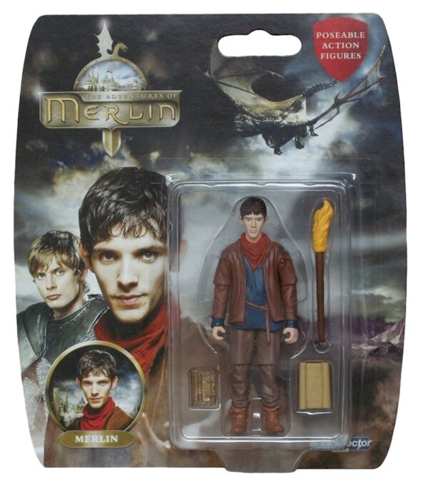 The Adventures Of Merlin Poseable Action Figures