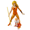 2013 SDCC Exclusive Thundercats Cheetara and Snarf Mega Deluxe 2 Pack