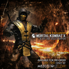2015 NYCC Exclusive Mortal Kombat X : Scorpion Exclusive Black & Gold Variant