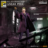 2016 SDCC - Mezco One:12 Collective Joker, DOJ Knightmare Batman & Captain Kirk With Chair Preview