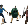Mezco Toyz Announces Axe Cop 4inch Scale Figures Series 1