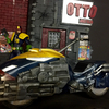 One:12 Collective- Judge Dredd  Lawmaster Bike From Mezco
