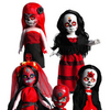 Living Dead Dolls Series 20: Day Of The Dead �Crimson and Black Limited Edition Variant Set and LDD Retro Halloween Set 2010 Full Set Of 3 Bundle