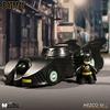 Mez-Itz Michael Keaton Batman & Batmobile From Mezco