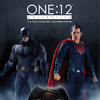 One:12 Collective Dawn Of Justice Batman & Superman Figures Revealed