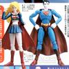 Microman Superman & Supergirl Figures