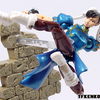 Microman Street Fighter Figures Up-Close