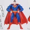 Microman Comic Superman, Supergirl and Kinniku Man