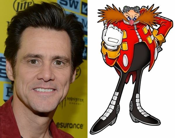 Jim Carrey To Play The Villain Robotnik In Sonic The Hedgehog