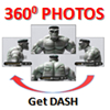 DASH has thousands of full 360-degree photos. Hi-Res. Full-screen