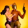 The Rocketeer & Betty Statue From Mondo