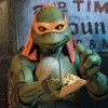 Teenage Mutant Ninja Turtles 1990 Movie 1/4 Scale Michelangelo Figure From NECA