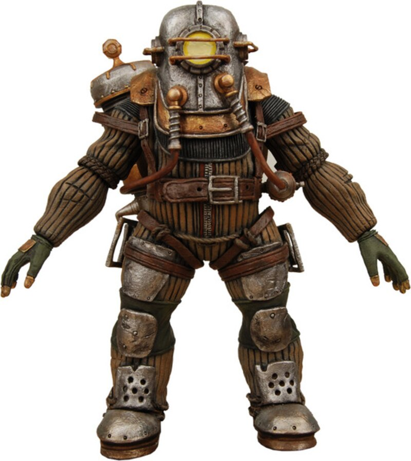 NECA Shines Light on New BioShock Figures and Replicas!