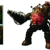 Bioshock Big Daddy Figure With LED Lights