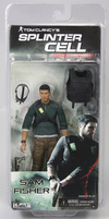 Splinter Cell Sam Fisher Figure In Pack Pics