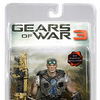 Gears Of War 3 Golden Retro Baird Series 2 Chase Figure