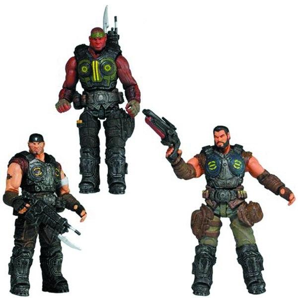 3.75 Gears Of War Series 2 Figures