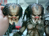 New 1/4 Scale Predator Figure Image Showing Comparison Between Paintmaster & Factory Samples