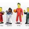 NECA Limited Edition Simpsons Guest Star Merchendise First Look