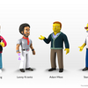 The Simpsons 25th Anniversary Wave 5 Figures - Stan Lee, Adam West & More