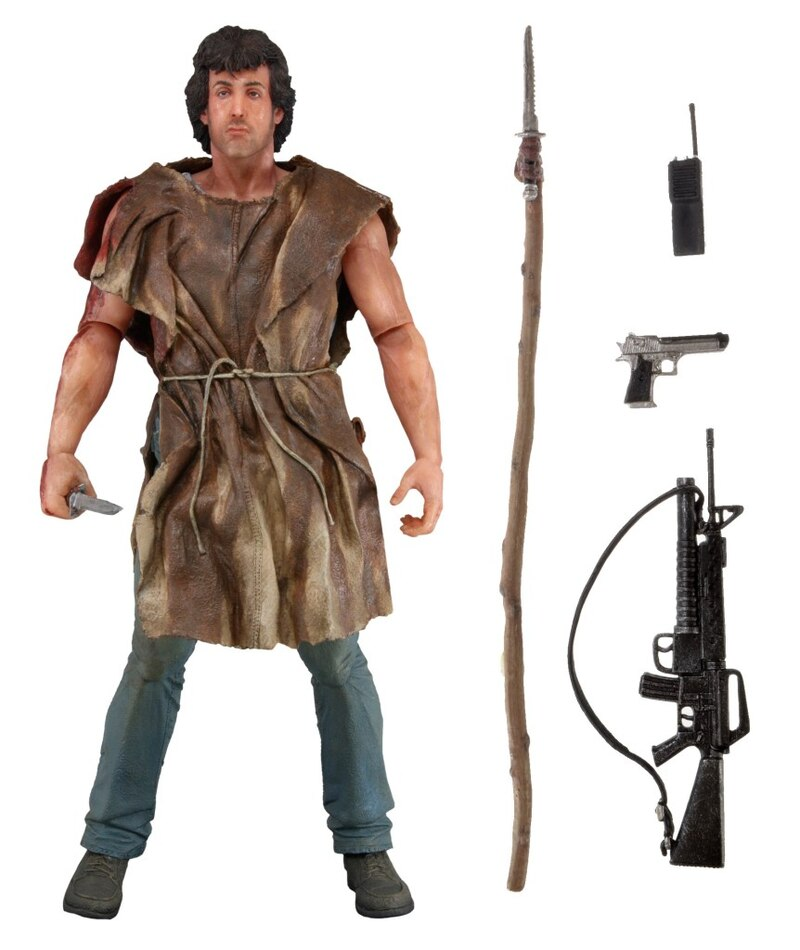 "7"" ""Survival"" Rambo Figure From NECA"