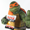 TMNT 1990 Movie Michelangelo 1/4 Scale Figure Video Review & Image Gallery