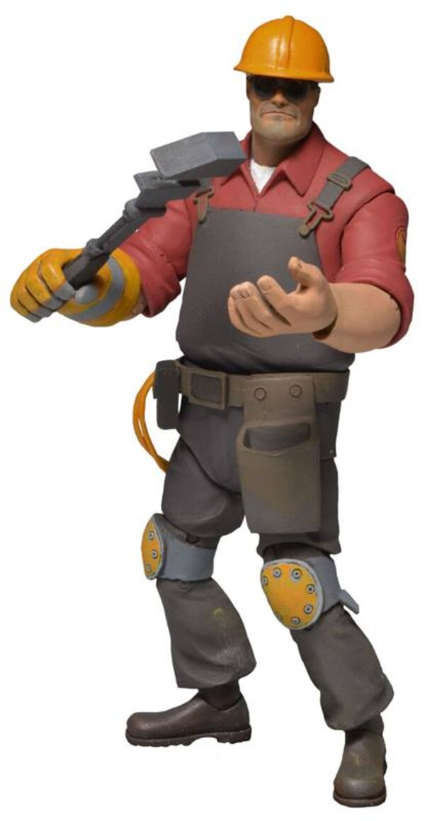 "NECA 7"" Team Fortress 2 Red Team Series 3 Figures - - Action Figures Toys News ToyNewsI.com"