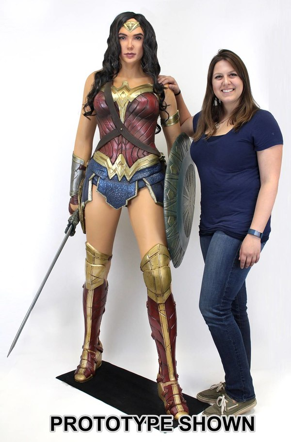 Life Size Wonder Woman Movie Figure From Neca Action