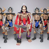 Skeleton Warriors Glyos Compatible Action Figures by October Toys on Kickstarter