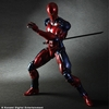 Play Arts Kai Metal Gear Solid Cyborg Ninja Red Version  At SDCC