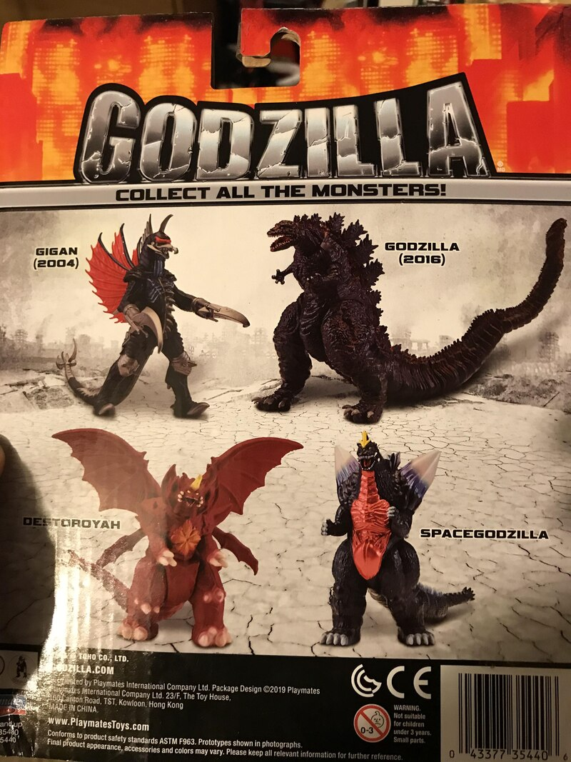 Playmates Toys Doing Godzilla Figures With Godzilla Vs Kong To Follow