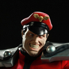 M. Bison Street Fighter Statue